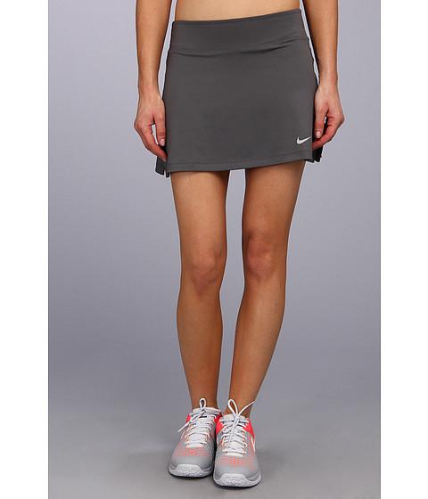 Fuste Nike - Straight Knit Skort - Dark Base Grey/Matte Silver