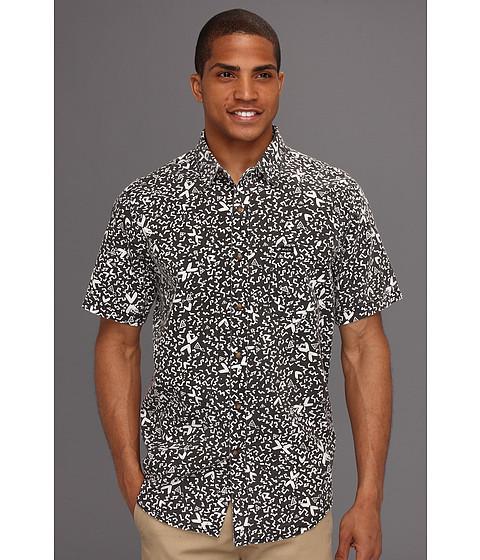 Tricouri RVCA - Shakes S/S Woven Shirt - Black