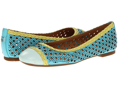 Balerini Sperry Top-Sider - Clara - Turquoise/Green/Lime