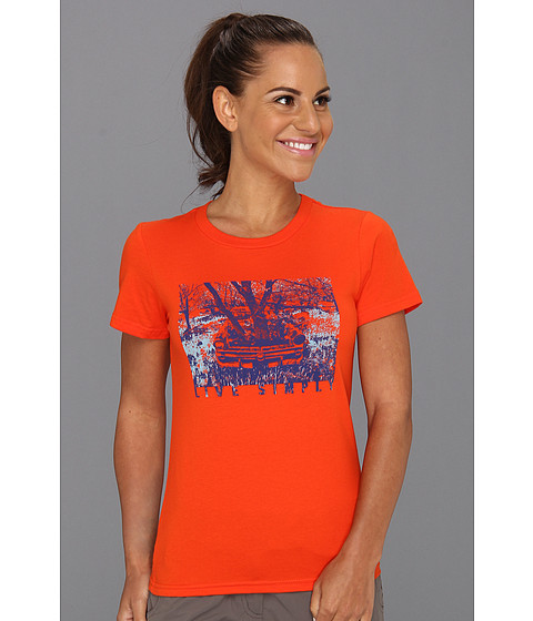 Tricouri Patagonia - Live Simplyî Heritage Auto T-Shirt - Paintbrush Red