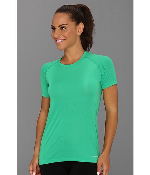 Tricouri Patagonia - S/S Gamut Shirt - Brilliant Green