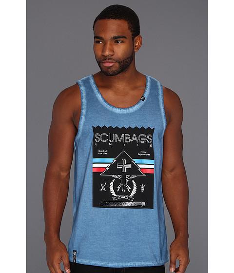 Bluze L-R-G - Scumbags Unite Tank Top - Venice Blue