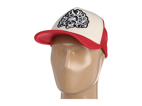 Sepci Obey - Easy Rider Trucker Hat - Natural / Red