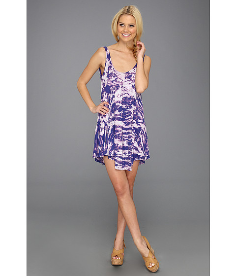 Rochii Rachel Pally - Rib Karma Dress - River Tie Dye