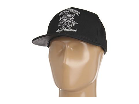Sepci Obey - Stop Snitchin\ Snapback Hat - Black