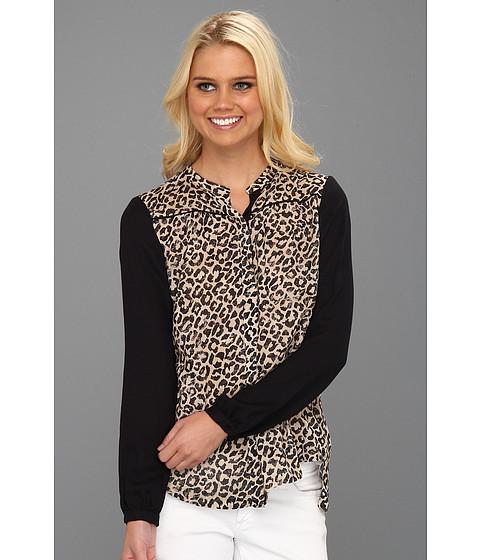 Bluze Rebecca Taylor - Leo Block Shirt - Neutral