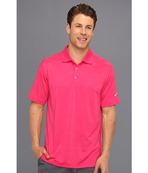 Tricouri Nike - Core Body Mapping Polo - Pink Force/White