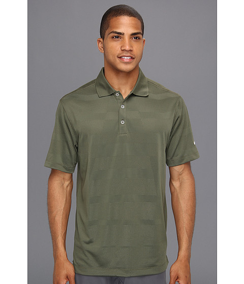 Tricouri Nike - Core Body Mapping Polo - Tarp Green/White