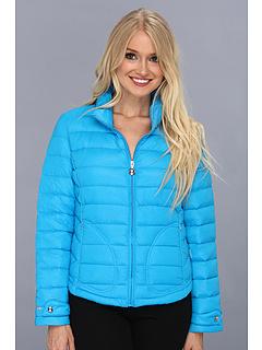 Geaca de fas Calvin Klein Packable Albastru