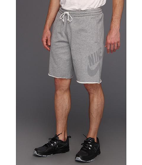 Pantaloni Nike - HBR FT Washed Short - Dark Grey Heather/Medium Grey