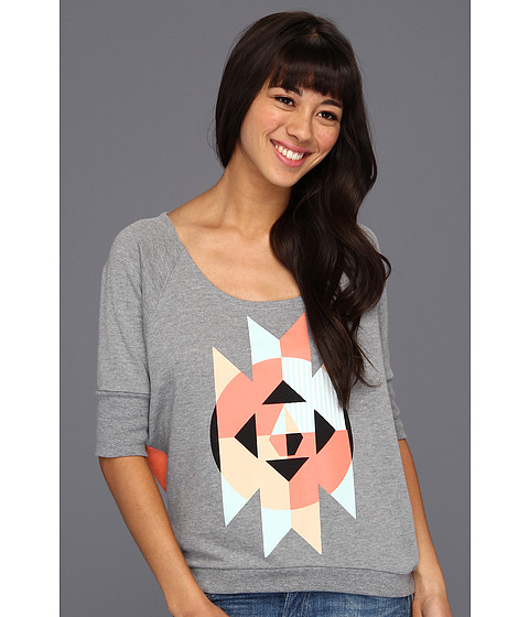 Tricouri Volcom - Danzigzag Crew - Heather Grey