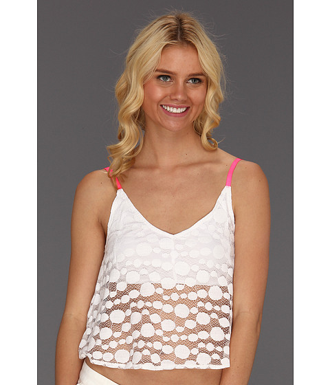 Tricouri Volcom - Mod Mania Lace Top - White