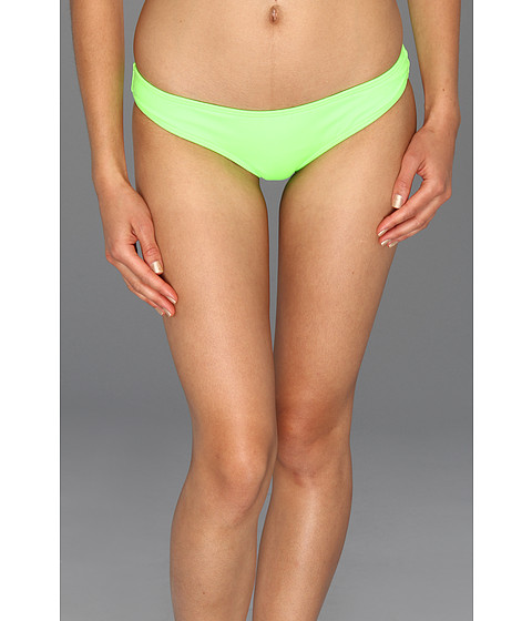 Costume de baie Volcom - Simply Solid Reversible Basic Retro Bottom - Neon Green