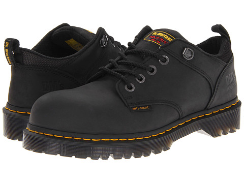 Pantofi Dr. Martens - Ashridge SD - Black Industrial Greasy