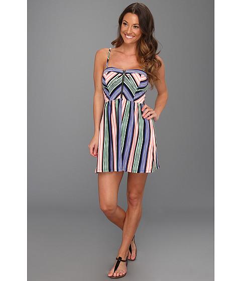 Rochii Roxy - No Problem Dress - Deep Ultramarine Stripe