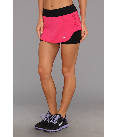 Fuste Nike - Relay Lined Skirt - Pink Force/Black/Reflective Silver
