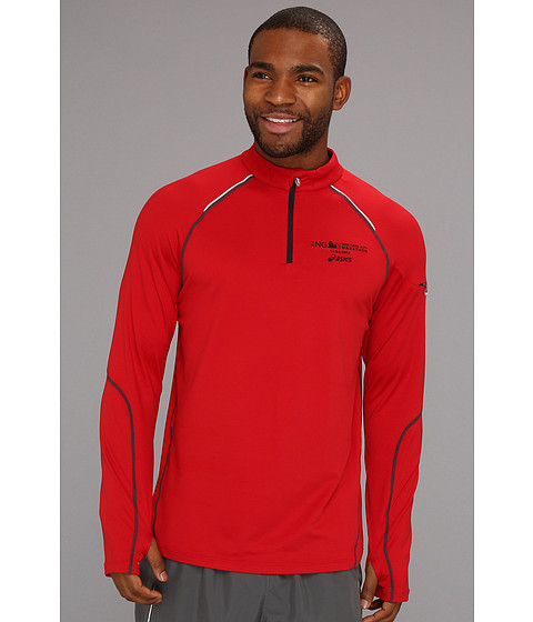 Jachete ASICS - Marathon Thermopolis Long Sleeve Half Zip - Brick/Iron