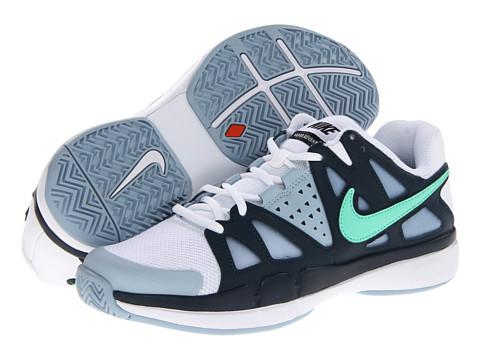 Adidasi Nike - Air Vapor Advantage - White/Armory Navy/Light Armory Blue/Green Glow