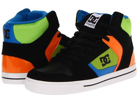 Adidasi DC - Base - Black/Royal/Soft Lime