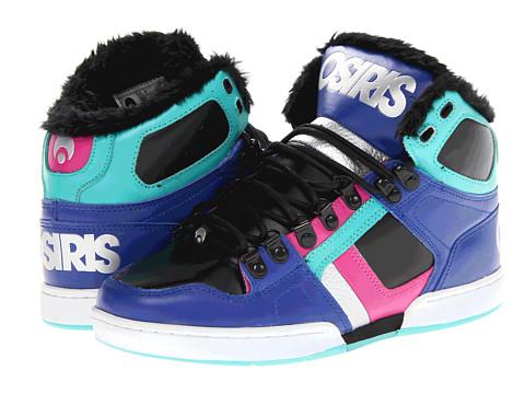 Adidasi Osiris - NYC83 SHR W - Blue/Black/Teal