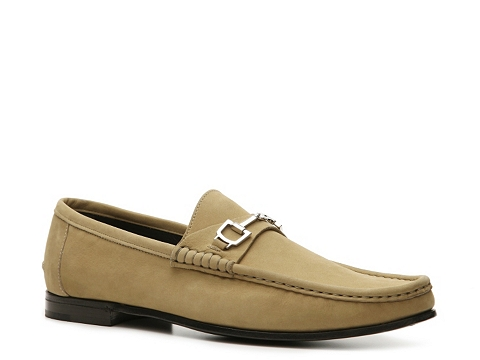 Pantofi Gucci - Nubuck Horsebit Loafer - Light Olive