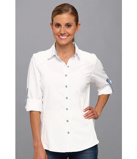 """Camasi Kuhl - Wundererâ""""¢ L/S Shirt - White/Azure"""