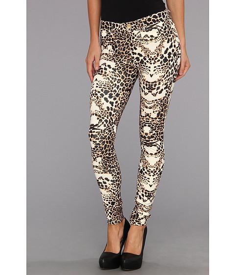 Pantaloni Tart - 5-Pocket Ponte Legging - Leopard Mirror