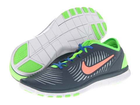 Adidasi Nike - Free Edge TR - Armory Slate/Light Armory Blue/Flash Lime/Atomic Pink