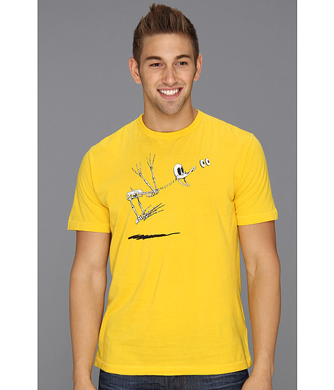 Tricouri French Connection - Peeking Duck Tee - Lifeboat Yellow