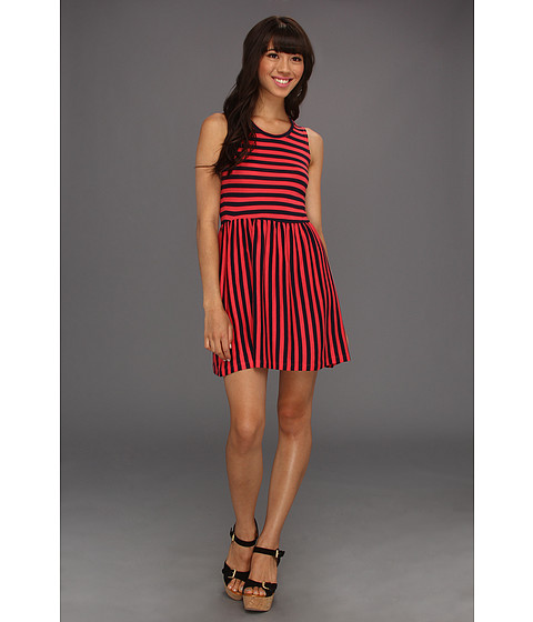 Rochii French Connection - Martha Striped Jersey 71LA9 - Nocturnal/Vibrant Pink