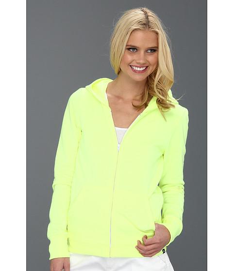 Bluze Hurley - Solid Slim Fleece Zip Hoodie (Juniors) - Hot Yellow