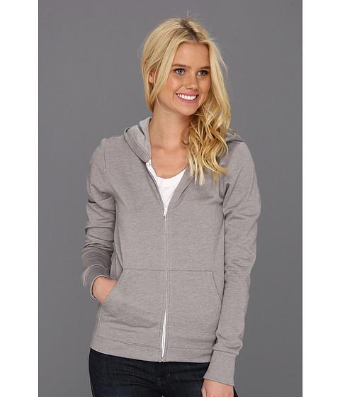 Bluze Hurley - Solid Slim Fleece Zip Hoodie - Heather Gray
