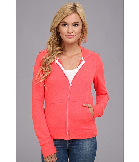 Bluze Hurley - Solid Slim Fleece Zip Hoodie - Laser Crimson