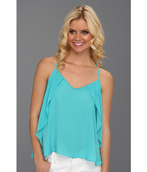 Tricouri BCBGeneration - Contrast Ruffle Tank - Agate