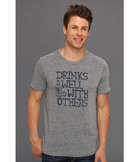Tricouri Original Penguin - Drinks Well Crew Neck Tee - Rain Heather