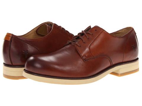 Pantofi Frye - Grant Oxford - Redwood Pebbled Full Grain