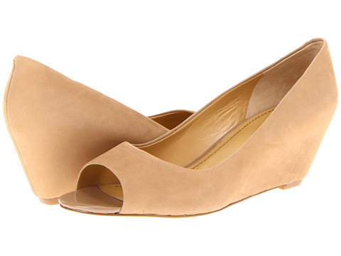 Pantofi Nine West - Mymoon - Natural Nubuck