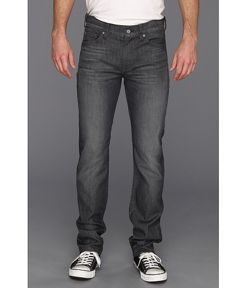Blugi 7 For All Mankind - Slimmy in Grey Distressed - Grey Distressed