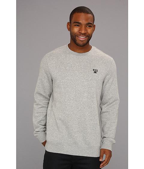 Bluze Nike - Icon L/S Crew - Medium Grey/Black