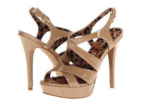 Pantofi Jessica Simpson - Bianca - Nude Patent Leather