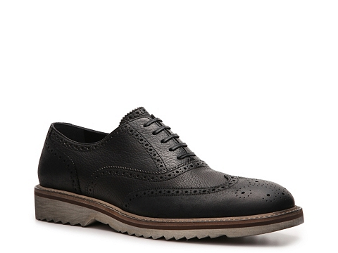 Pantofi D&G - Leather Wingtip Oxford - Black