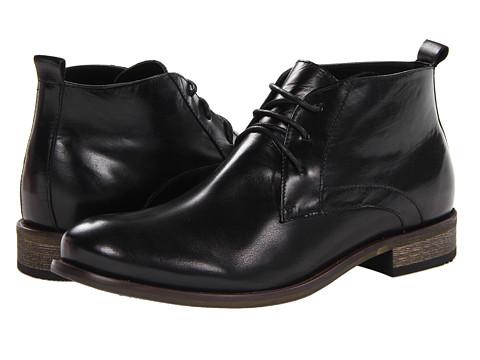 Ghete Steve Madden - P-Cullin - Black Leather