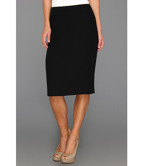 Fuste Nine West - Crepe Pencil Skirt - Black