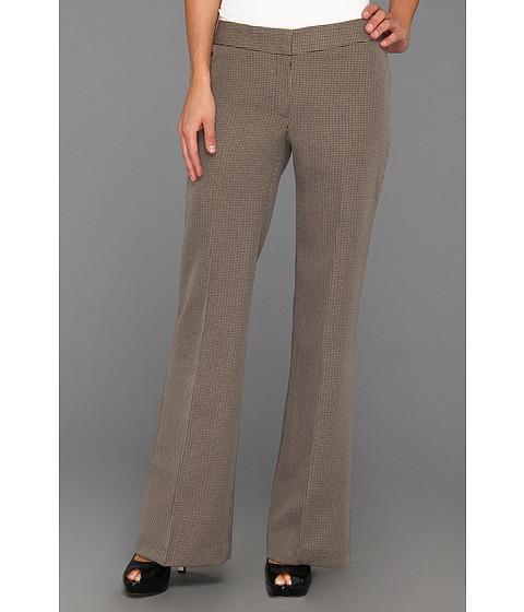 Pantaloni Nine West - Mini Check Pant - Camel Multi