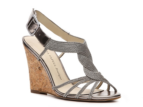 Sandale Adrianna Papell Boutique - Karley Wedge Sandal - Pewter