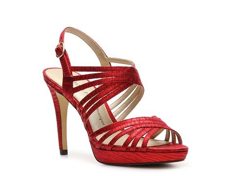 Sandale Adrianna Papell Boutique - Abbie Platform Sandal - Red