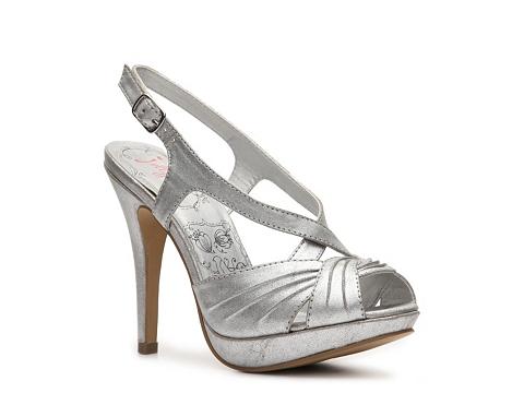 Sandale Jellypop - Aurelia Platform Sandal - Silver