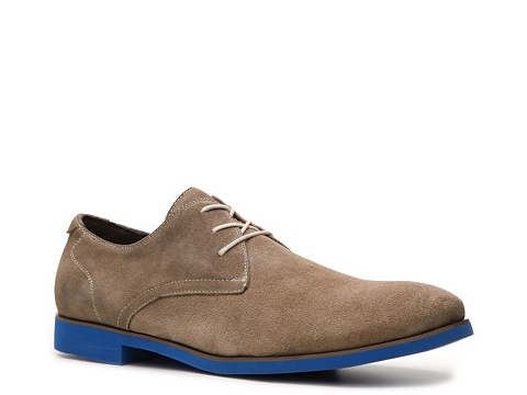 Pantofi Bacco Bucci - Willis Oxford - Taupe/Blue