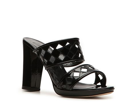 Sandale Bally - Loysta Leather Cutout Sandal - Black