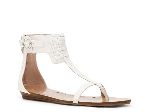 Sandale XOXO - Donny Flat Sandal - White